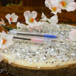 Wimpernbürste mit Hülle Augenblicke Beauty